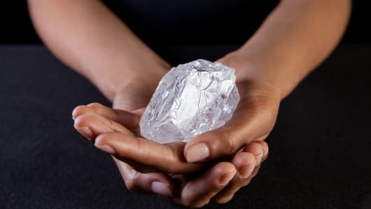 World's largest rough diamond